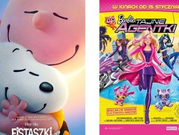"""Mamy dla Was bilety na """"Barbie: Tajne Agentki"""" oraz """"Fistaszki"""" (fot. mat. Planet Cinema)"""