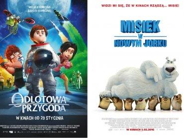 """Mamy dla Was bilety na """"Odlotową Przygodę"""" oraz """"Miśka w Nowym Jorku"""" (fot. mat. Planet Cinema)"""