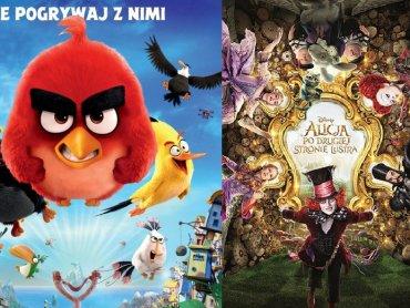 """W katowickim kinie Planet Cinema możecie oglądać """"Angry Birds Film"""" oraz """"Alicję po drugiej stronie lustra"""" (fot. mat. Planet Cinema)"""