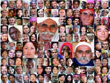 """""""7 miliardów innych"""" to wystawa prezentująca porter ludzkości w XXI wieku (fot. mat. organizatora)"""