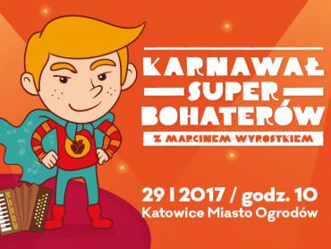 Podczas Karnawału SuperBohaterów przedstawione zostaną aranżacje muzyki z filmów dla dzieci (fot. Miasto Ogrodów Katowice)
