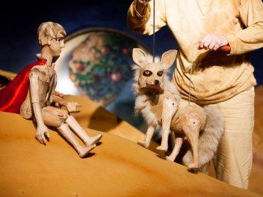 """""""Małego Księcia"""" obejrzycie w wykonaniu Teatru Scena Lalek Bajka z Czeskiego Cieszyna (fot. mat. www.tdivadlo.cz)"""