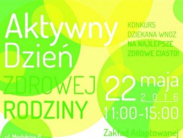 """""""Aktywny Dzień Zdrowej Rodziny"""" to propozycja dla wszystkich, którzy lubią zdrowy tryb życia (fot. mat. organizatora)"""