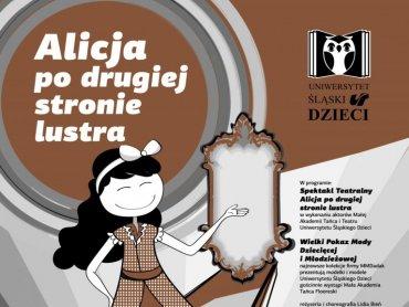 """""""Alicja po drugiej stronie lustra"""" to nietypowe widowisko łączące ze sbą elementy, teatru, koncertu i pokazu mody (fot. mat. organizatora)"""