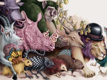Ilustracja Alicji Kocurek (fot. materiały Ronda Sztuki)