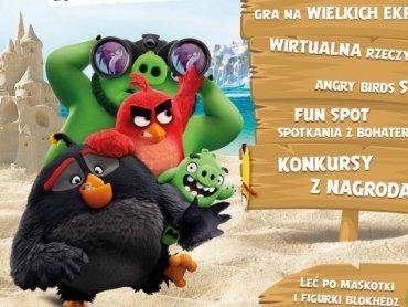 Dzieci będą mogły stanąć oko w oko z bohaterami filmu Angry Birds i zagrać w nimi w ciekawe gry (fot. mat. organizatora)