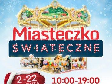 Świąteczne Miasteczko będzie dostępne do 22 grudnia (fot. mat. organizatora)