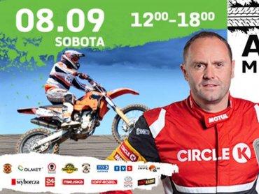 Gościem specjalnym Arena Mmoto Show będzie Tomasz Kuchar – kierowca rajdowy, mistrz Polski Rallycross w klasie Supercars (fot. mat. organizatora)