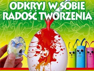 Na warsztaty wielkanocne zaprasza CH Auchan w Mikołówie, Gliwicach i Żorach (fot. mat. organizatora)