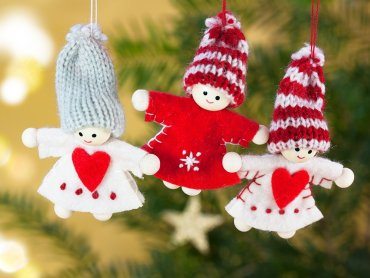 Kreatywne warsztaty tworzenia ozdób świątecznych odbędą się 9 grudnia (fot. pixabay)