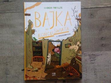 Postapokaliptyczne komiksy autorstwa Marcina Podolca to świetna lektura dla całej rodziny (fot. Ewelina Zielińska/SilesiaDzieci.pl)