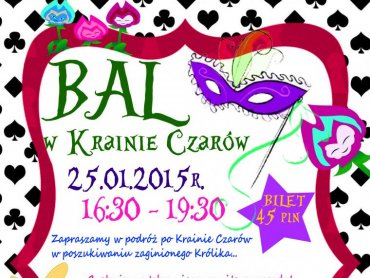 Kraina Czarów zaprasza na bal karnawałowy (fot. mat. bawialni)