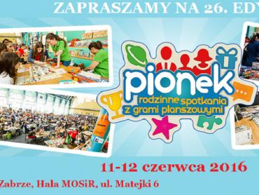 Pionek to rodzinne spotkania z grami planszowymi w Zabrzu (fot. mat. organizatora)