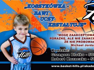 W Bielsku-Białej powstała szkółka koszykarska, trwają zapisy do drużyn (fot. Daas Basket Hills)
