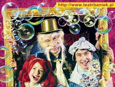 Teatr Baniek Mydlanych to niecodzienne, edukacyjne widowisko teatralne (fot. mat. organizatora)