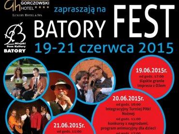 Batory Fest odbędzie się 19-21 czerwca w Chorzowie (fot. mat. organizatora)