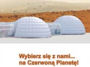 Model bazy Marsjańskiej w skali 1:2 stanie w sobotę w Żywcu (fot. materiały prasowe)
