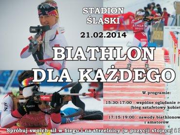 Możesz sprawdzić się w strzelaniu i biegach (fot.Szymon Sikora/ Polski Związek Biathlonu)