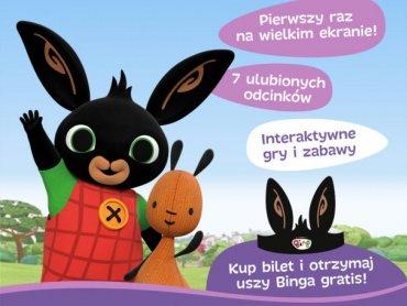 Króliczek Bing, znany maluchom z telewizji, teraz zagości na dużych ekranach (fot. mat. organizatora)