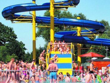 Można już korzystać z letniego kąpieliska Bugla (fot. materiały Bugli/Facebook)