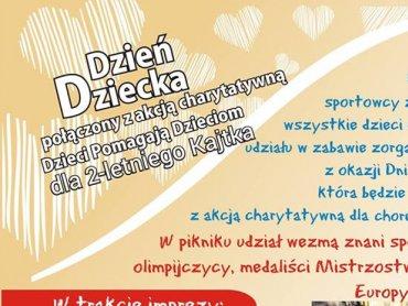 Mali sportowcy będą mogli wesprzeć chorego Kajtka (fot. mat. organizatora)