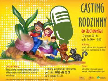 Casting rodzinny to doskonała okazja do dobrej zabawy w rodzinnym gronie (fot. mat. organizatora)