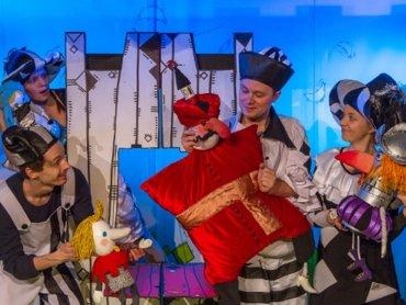 """Spektakl pt. """"Chłopiec z Gliwic"""" 6 maja zostanie wystawiony na deskach Teatru Miejskiego w Gliwicach (fot. Krzysztof Kamiński)"""