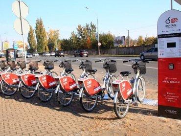 KajTeroz - Chorzowski Rower Miejski posiada 15 stacji i 150 rowerów (fot. UM Chorzów)