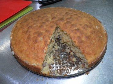 Ciasto orzechowe (fot. mat. Cynamonu Sztuki Gotowania)