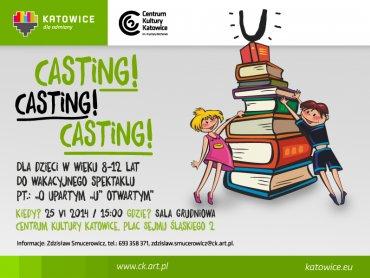 Ten casting to szansa dla tych, którzy marzą, by zostać aktorami (fot. materiały organizatora)