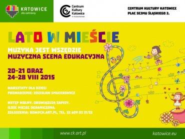 CKK zaprasza młodych melomanów na warsztaty muzyczne (fot. mat. organizatora)