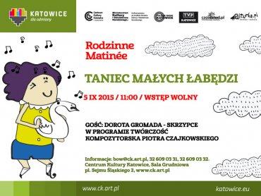 Rodzinne Matinée to muzyczne spotkania dla dzieci (fot. mat. CKK)