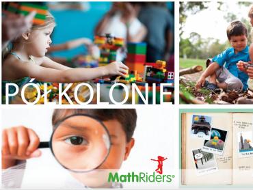 Na półkoloniach w MathRiders na dzieci czekają m.in. klocki Lego i zabawy na świeżym powietrzu (fot. mat. organizatora)