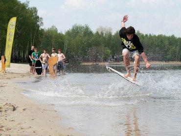 Podczas imprezy Dębowy Maj odbędzie się szereg warsztatów związanych ze sportami wodnymi (fot. mat. organizatora)