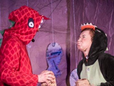 """""""Teo, Śląski Dinozaur"""" zostanie wystawiony w pubie Druid 12 sierpnia (fot. mat. organizatora)"""