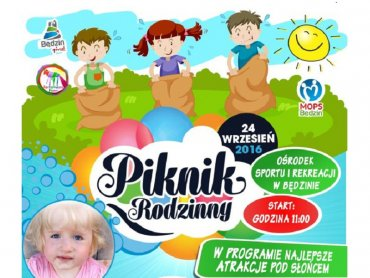 Piknik charytatywny dla Kasi odbędzie się 24 września na terenie Ośrodka Sportu i Rekreacji w Będzinie (fot. mat. organizatora)