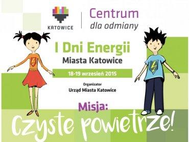 Energetynka i Atmosferek będą towarzyszyć najmłodszym w trakcie zabaw na I Dniu Energii Miasta Katowice (fot. mat. organizatorów)