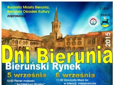Dni Bierunia odbędą się na rynku 5 i 6 września (fot. mat. organizatora)