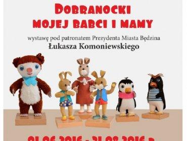 """Wystawę """"Dobranocki mojej mamy i babci"""" oglądać można do końca wakacji (fot. mat. organizatora)"""