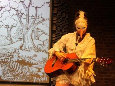 """W Teatrze Gry i Ludzie będzie można obejrzeć spektakl pt. """"Dobry las"""" (fot. materiały teatru)"""