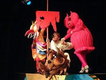 Znany wszystkim doktor Dolittle pojawi się na scenie Teatru Dzieci Zagłębia (fot. mat. Teatr Dzieci Zagłębia)