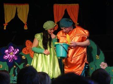"""""""Królewna Fasolka"""" to spektakl, który pojawi się w teatrze gościnnie (fot. mat. organizatora)"""