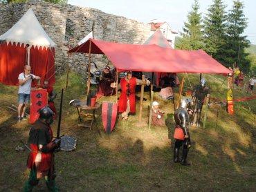 Na Jarmarku Jakubowym w Sławkowie pojawią się również rycerze (fot. mat. MOK Sławków)