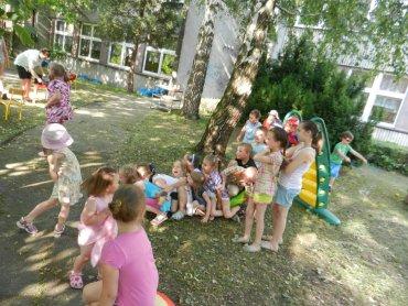 Dzieci z przedszkola nr 17 w Tychach (fot. alex)
