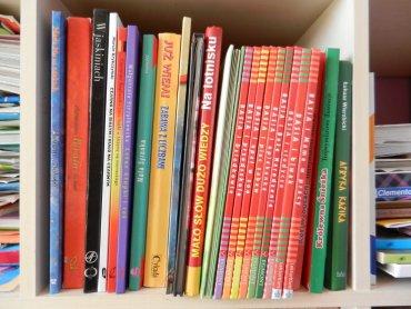 Książki, które chcemy oddać, muszą być w dobrym stanie (fot. archiwum Silesia Dzieci)