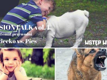 O relacjach dziecko-pies będzie mowa podczas spoktkania PASSIONTALK (fot. mat. organizatora)