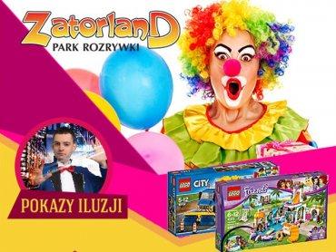 Na Dzień Dziecka w parkach Zatorland przewidziano dodatkowe atrakcje (fot. mat. organizatora)