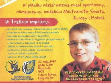 Dochód ze sportowego Dnia Dziecka zostanie przeznaczony na leczenie Mateusza Guzy (fot. mat. organizatora)