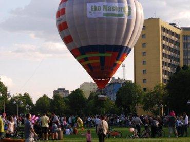To spora gratka, przelecieć się takim balonem (fot. materiały organizatora)