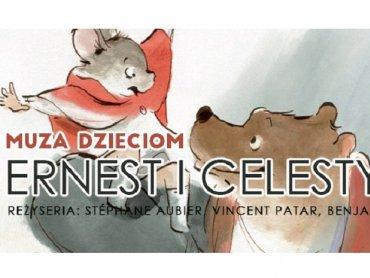 """""""Ernest i Celestyna"""" to film animowany, który obejrzycie w sosnowieckiej Muzie (fot. mat. organizatora)"""